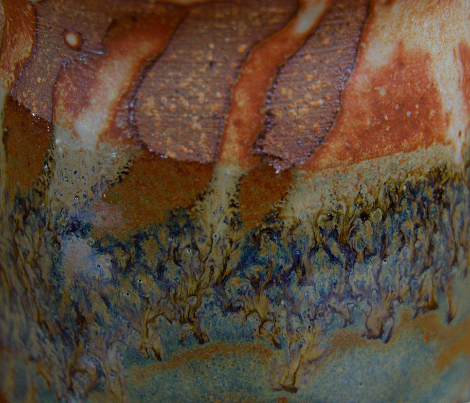 CLOSE UP OF MUG MARBLING by CorazondeDios