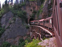 White Pass Narrow Gauge train Alaska