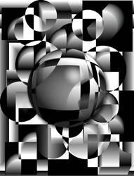 Escher Moon by CorazondeDios