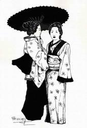 .kimono. by Ilustralia