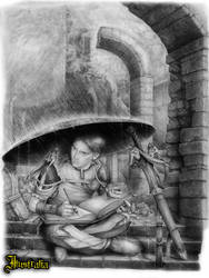 Soldado by Ilustralia