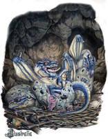 Azul by Ilustralia