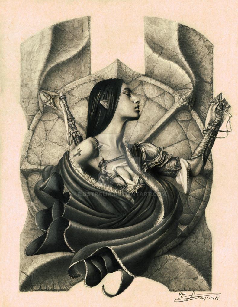 Izela by Ilustralia