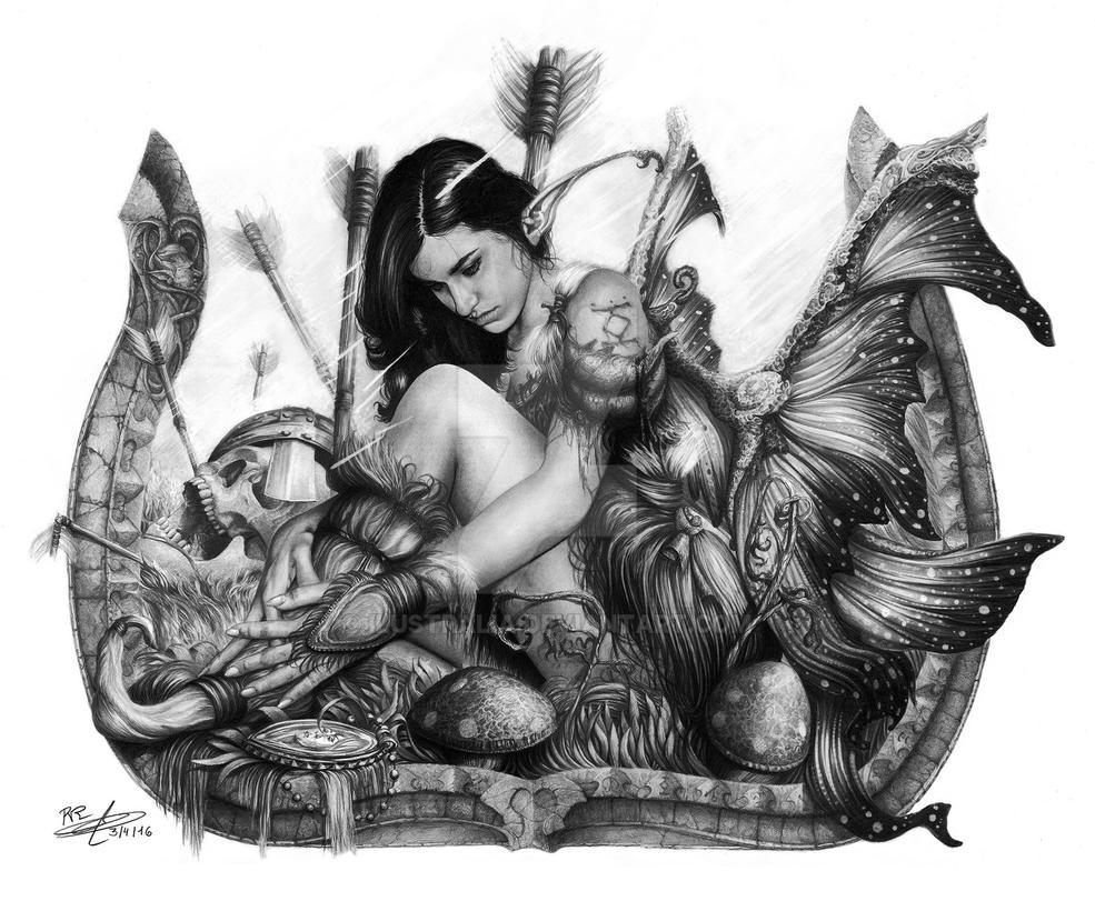 Hada by Ilustralia