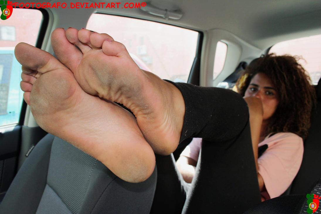 Foot fetish soles toes footjob handjob simulation 6