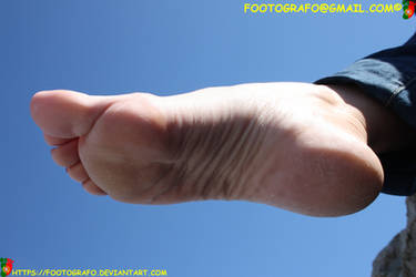 Fedra's Foot Poster by Footografo
