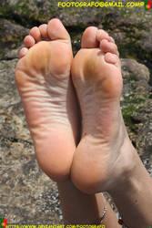 Wet Feet by Footografo
