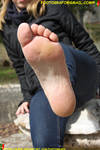 Approach And Kiss The Foot