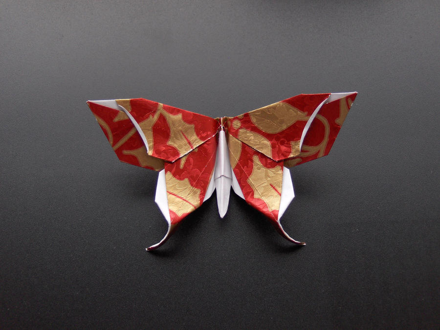 Origami butterfly by Taulmari on DeviantArt - photo#25