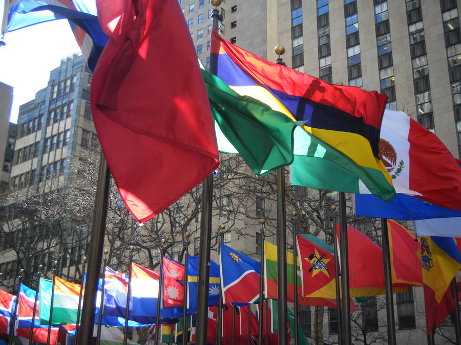 Rockefeller Centre Flags 2011 by je66