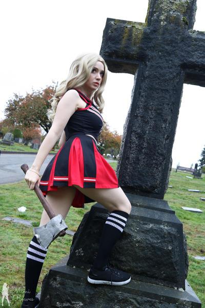 Haunted Graveyard by MimiReaves