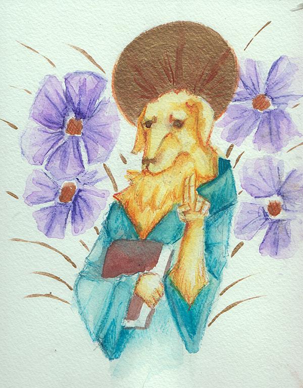 Saint Thistle by fainting-goat