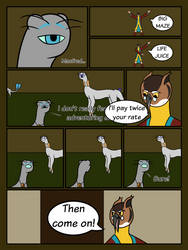 Labyrinth Audition Page 5 by EmpressEvaDowns