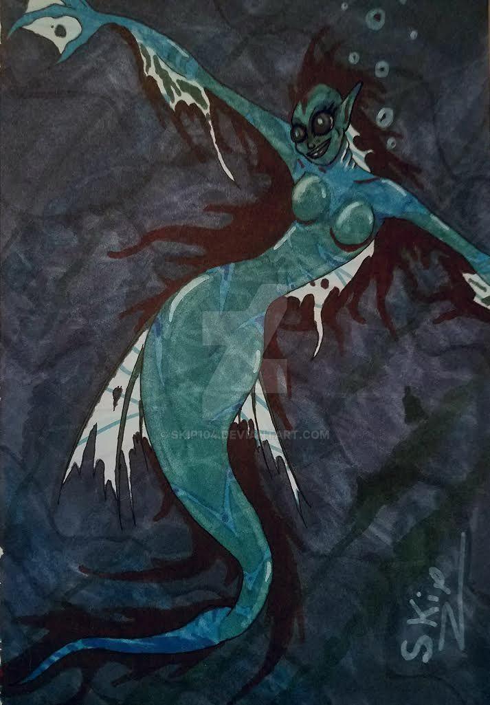 Mermaid by skip104