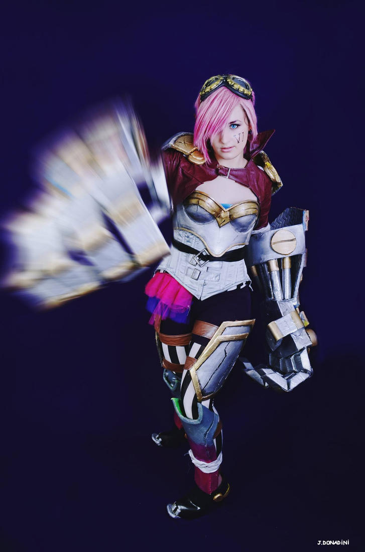 VI : League  of Legend by minimiauu
