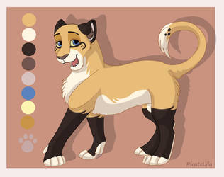 Lila the lioness colors by PirateLila
