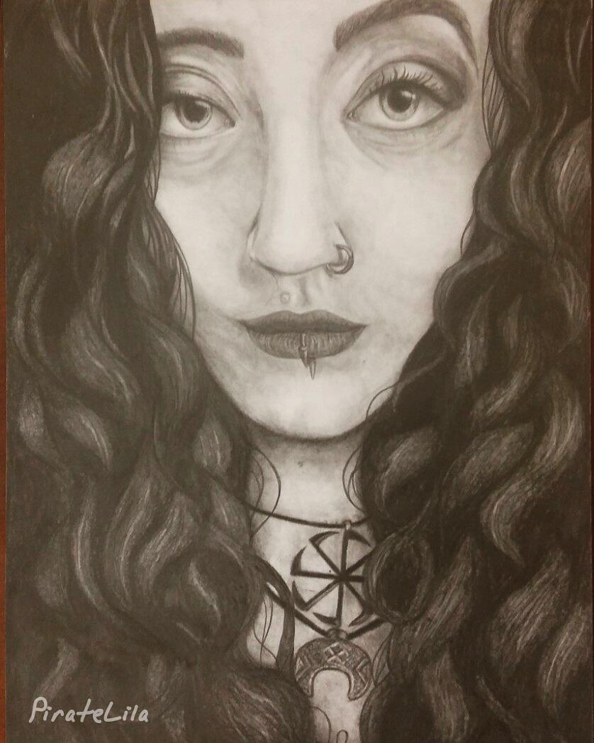 Kamila portrait by PirateLila