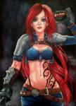 Katarina (referenced) by PirateLila