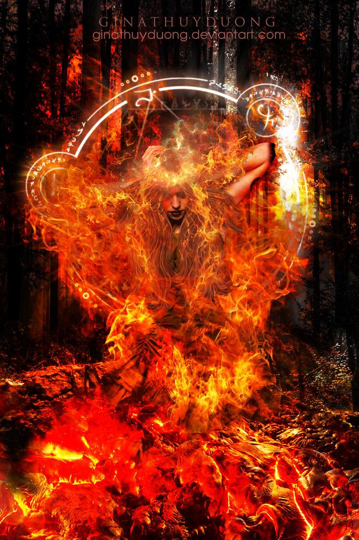Burning-Mind by ginathuyduong