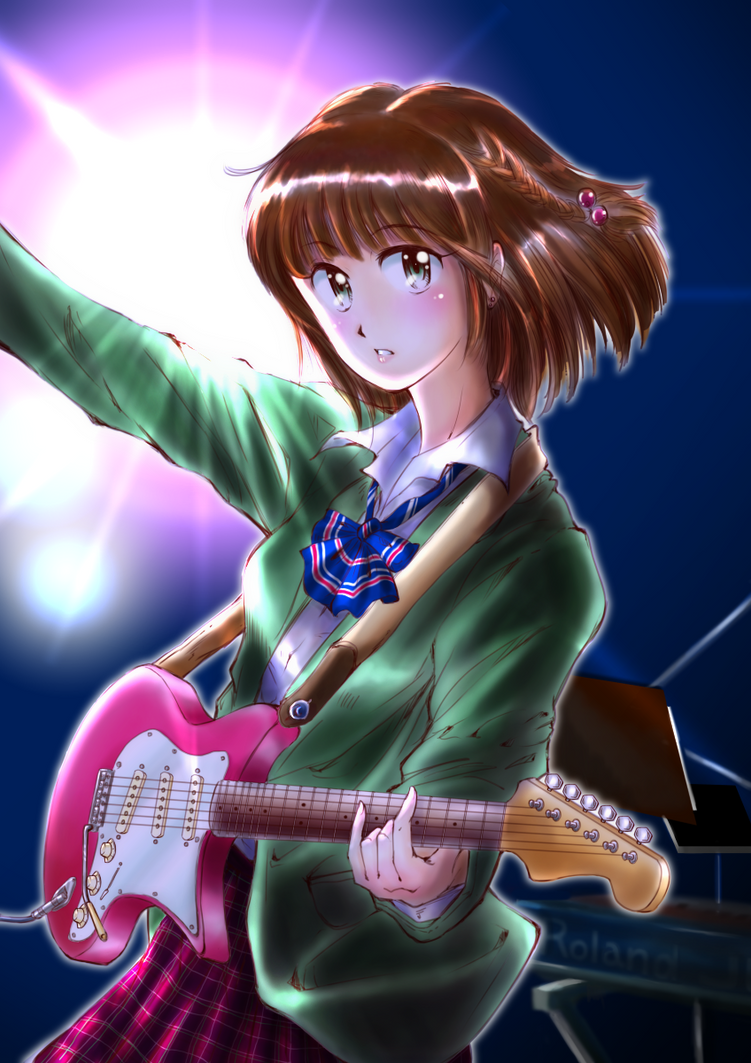 Live at school fes! by neconotama