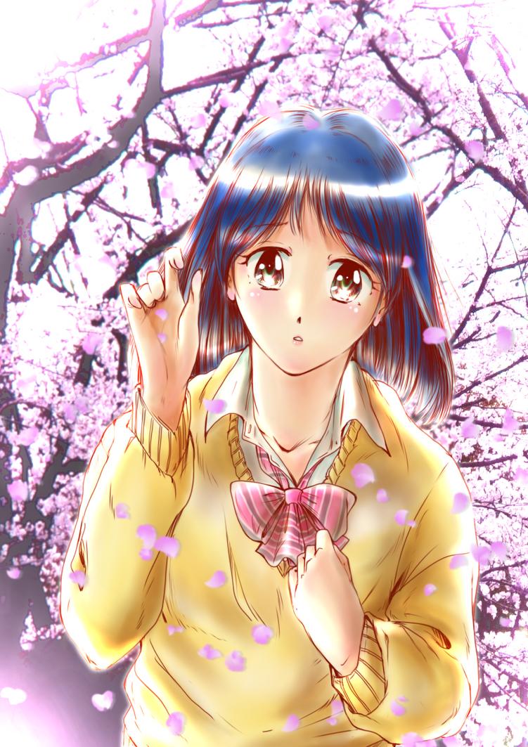 Memory of cherry blossom. by neconotama