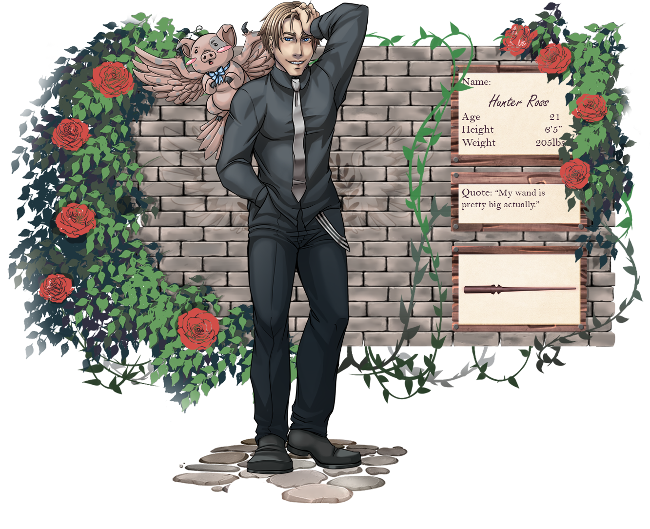 [TRA] Hunter Ross - Second Year