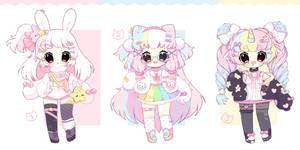 [closed] Cute pastel adopts Auction