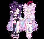 [C:] Cute twins