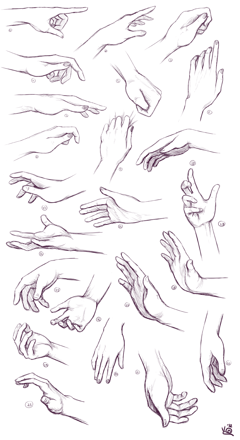 Practice - Hands by saurien