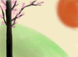 Cherry Tree by vera-san