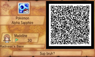 My Secret Base QR Code! (updated) by vera-san