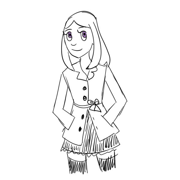 Quick Maddy Sketch by vera-san