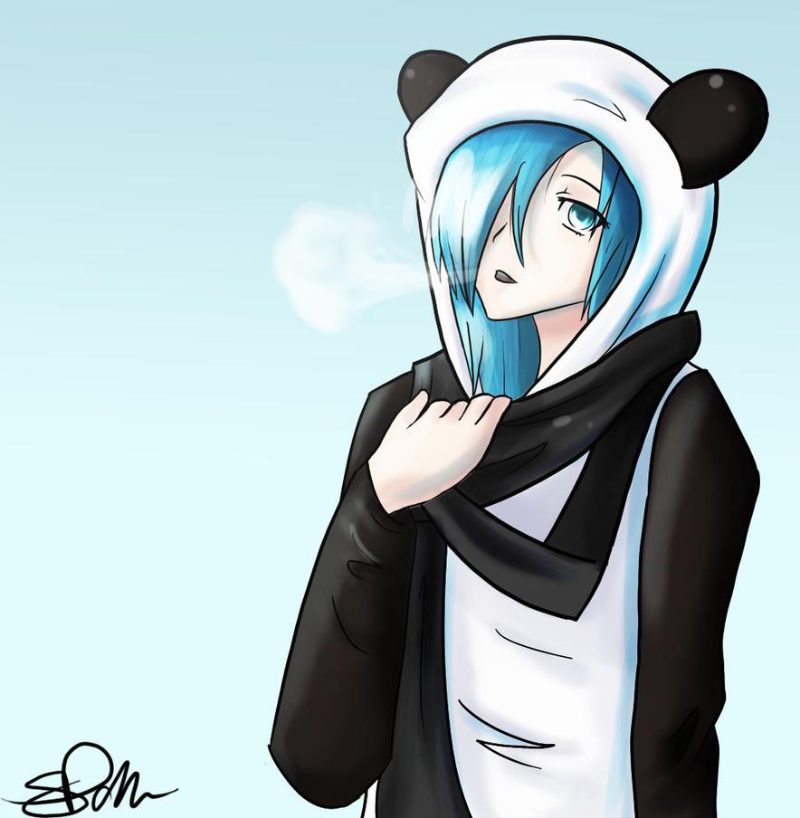 Cool Panda By SianEatsCookies