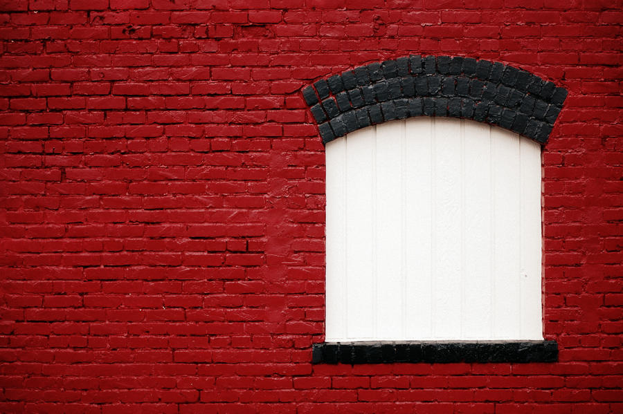 Brick Window by WintersRead