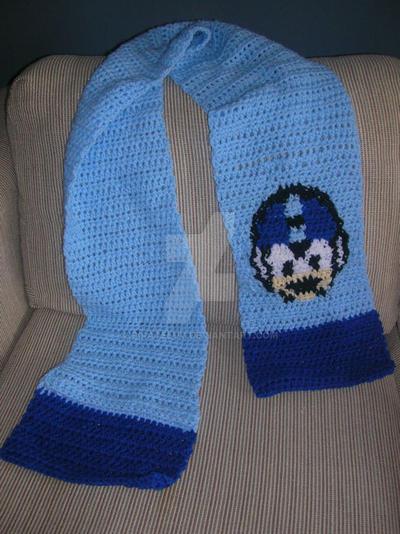 Megaman Crochet Scarf By Pirateluv On Deviantart