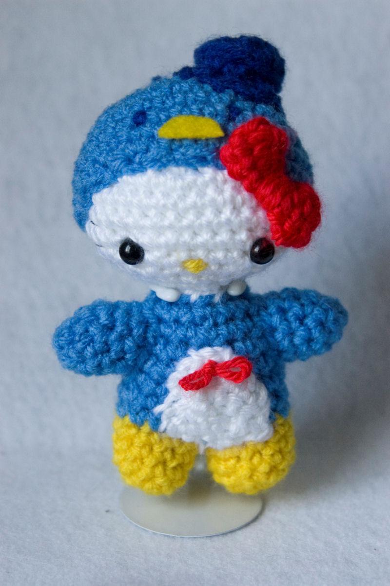 Crochet Doll Hat Pattern Free : hello kitty amigurumi by pirateluv on DeviantArt