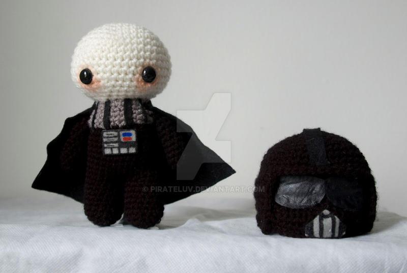 Darth Vader amigurumi doll by pirateluv on DeviantArt