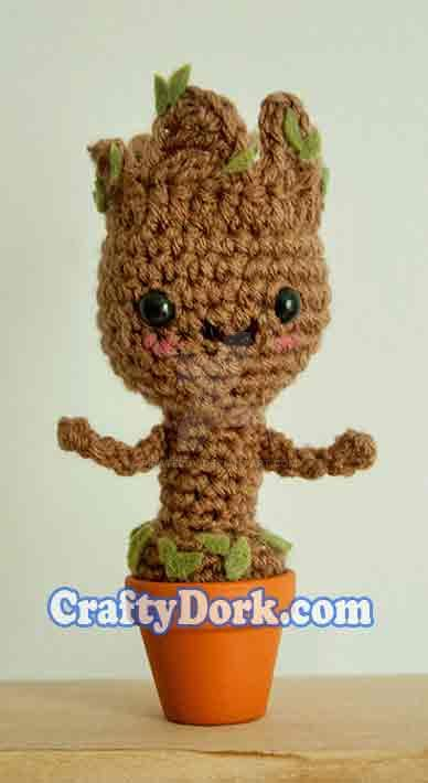 Baby Groot Amigurumi by pirateluv on DeviantArt