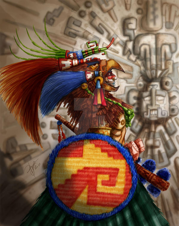 Guerrero Aguila By Rafiky On Deviantart