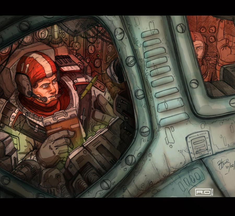 astronauta 2 by rafiky