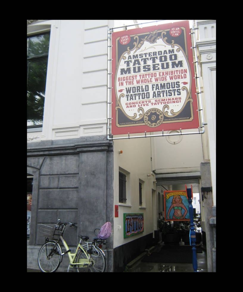 Amsterdam Tattoo Museum By Hellion 666 On Deviantart