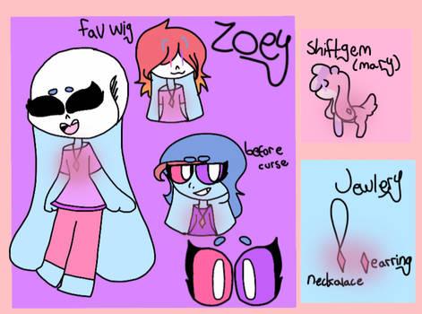ZOEY || UPDATED REF by Lorydrawz