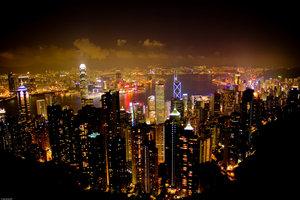 Hong Kong from the Peak by UrbanShots