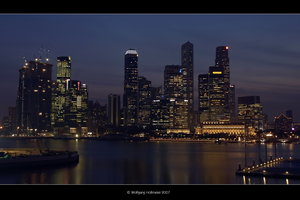 Singapore Skyline by UrbanShots