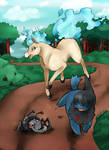 PMA-Collab: Ponyta Race Cladio Version