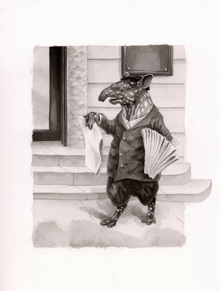 Tim the Tapir by DrummerGirl375