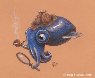 Squidlock Holmes by MegLyman