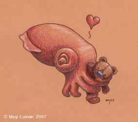 Cuddlefish by MegLyman