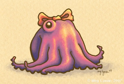 Girly Octopus by MegLyman