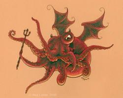 Demonoctopus by MegLyman